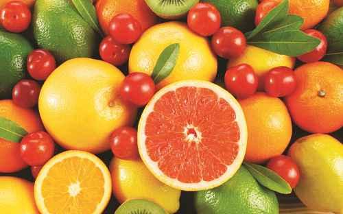 Dùng 'fruit', 'food' số ít và số nhiều chính xác